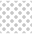 radiodetector pattern seamless vector image vector image