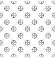 radiodetector pattern seamless vector image