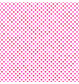 repeating pink heart pattern background design vector image vector image