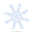 snowflake one vector image