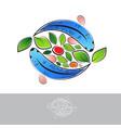 aquaponic logo vector image