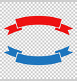 badge icon ribbon in flat style on isolated vector image