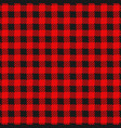 checkered flannel plaid seamless pattern vector image