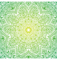 colorful ornate mandala in oriental style vector image