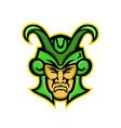 loki norse god mascot vector image vector image