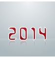 New Year Figures Fourth Embodiment vector image vector image