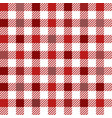 red gingham mix seamless pattern vector image vector image