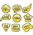 retail icon sale vector image vector image
