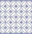vintage tile pattern seamless vector image vector image