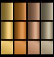 set of gradients vector image