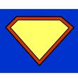 Super hero background vector image