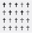 crosses a simple set vector image