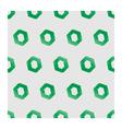 3d seamless hexagon background gray vector image vector image