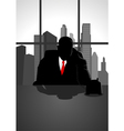 Boss On The Phone vector image vector image