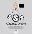Financial Crisis Conceptual EP vector image