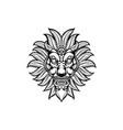 marijuana monster mask vector image vector image