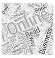 Online Proofreading Jobs Word Cloud Concept vector image vector image