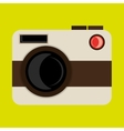 retro camera design vector image vector image