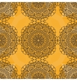 Seamless Oriental Pattern Based on Hand-drawn vector image vector image