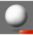 sphere abstract background vector image