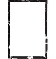 thick grunge frame vector image vector image