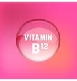 Vitamin B12 01 A vector image vector image