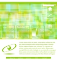 abstract website template - green vector image vector image
