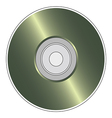 compact disk1 vector image vector image