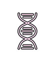 dna science cell medicine molecule vector image