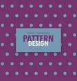stylish polka purple background design vector image vector image