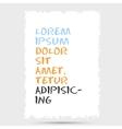 template header design vector image