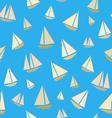 Seamless texture of ships vector image