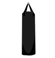 Boxing bag vector image vector image