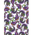 decorative paisley vector image vector image