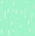 green mint background pattern vector image vector image