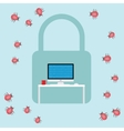 security virus malware attack vector image vector image