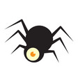 spider halloween icon vector image