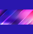 abstract diagonal stripes with light blue and vector image vector image