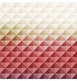 Abstract geometric background Mosaic vector image