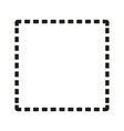 dotted frame simple vector image