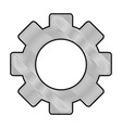 Gear machinery piece