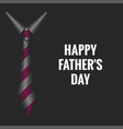 happy father is day text poster dark mockup men vector image