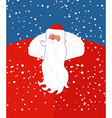 Russian Sana Claus New years grandfather from vector image