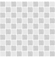 Seamless pattern of squares in sketch style vector image vector image