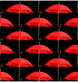 semless a background from red umbrellas vector image vector image
