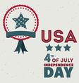 USA design vector image vector image