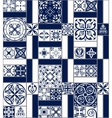 Moroccan tiles Seamless Pattern vector image