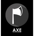 axes icon vector image