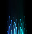 blue overlap pixel speed abstract background vector image vector image