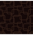 brown seamless pattern with squares vector image vector image